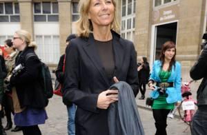 Fashion Week : Claire Chazal et Géraldine Nakache, duo charmant pour Carven