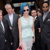 Katy Perry : Un look coloré pour faire chavirer Paris