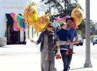 Alyson Hannigan, enceinte : Bonheur total avec son mari, sa fille et des ballons