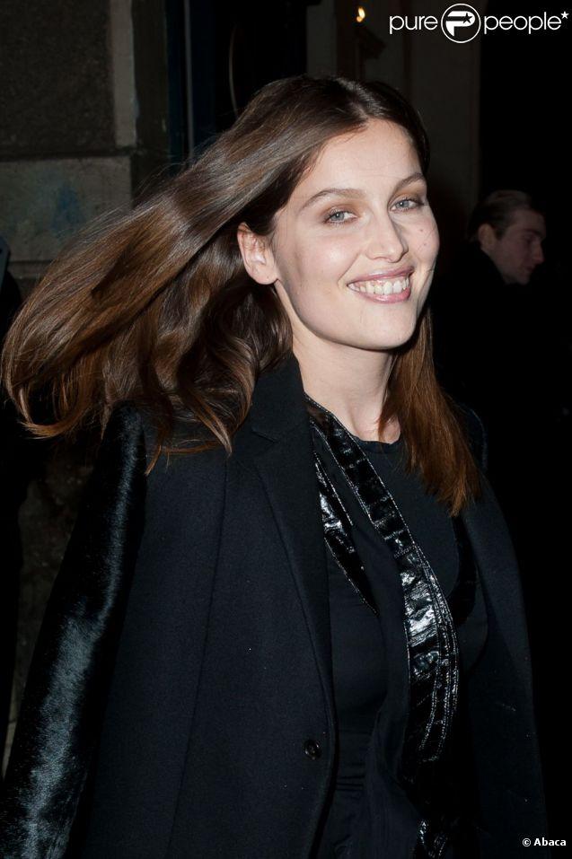 Laetitia Casta au défilé Givenchy qui s'est déroulé à Paris le 4 mars 2012
