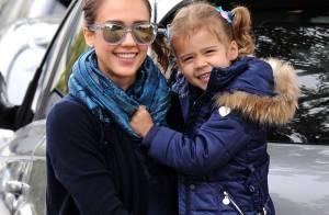 Jessica Alba retourne à l'école avec son irrésistible petite fille
