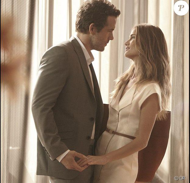 Rosie Huntington-Whiteley et Ryan Reynolds pour Marks and Spencer