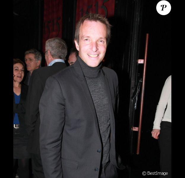 Stéphane Rotenberg lors de la soirée 25 ans de M6 à la discothèque le 1515 à Paris le 8 mars 2012