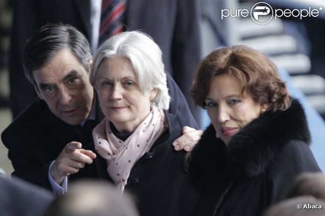 Fran ois fillon sa femme p n lope et roselyne bachelot - Francois busnel sa femme ...