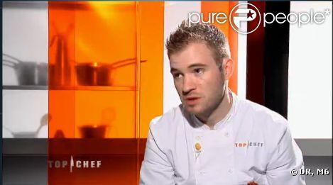 Julien est éliminé de Top Chef 3