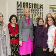 La princesse Mette-Marit de Norvège inaugurait le 12 mars 2012 le foyer pour femmes Stella de la Croix-Rouge norvégienne, dont elle est marraine, à Oslo.