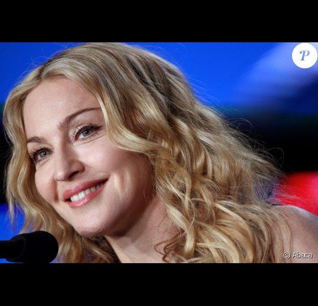 Madonna le 2 février 2012 à Indianapolis