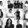 Arnaud Assoumani, Amélie Cazé, Lucie Décosse, Tony Estanguet, Laura Flessel, Nikola Karabatic et Camille Lacourt membres du Team BMW Performance, en route pour les JO de Londres