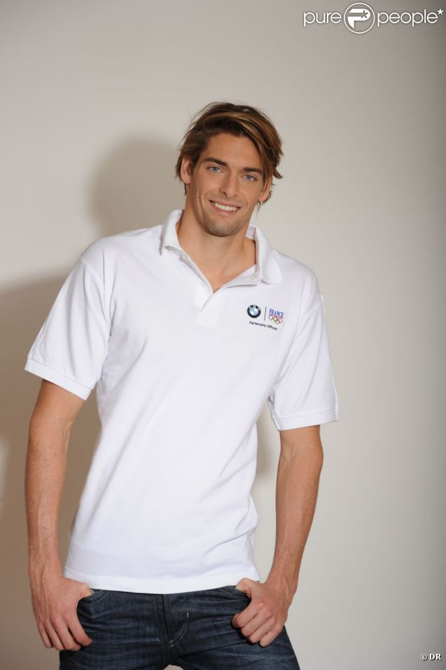 Camille Lacourt membre du Team BMW Performance, en route pour les JO de Londres