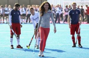 Kate Middleton, élancée et souriante, fait concurrence aux stars olympiques