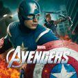 """""""Chris Evans alias Captain America dans  Avengers , en salles le 25 avril."""""""