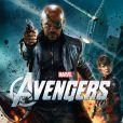 """""""Samuel L. Jackson et Cobie Smulders dans  Avengers , en salles le 25 avril."""""""