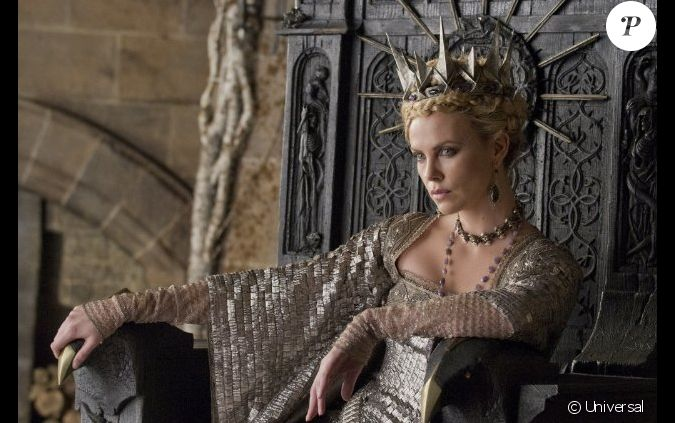 Charlize theron terrible sorci re dans blanche neige et le chasseur - Sorciere dans blanche neige ...