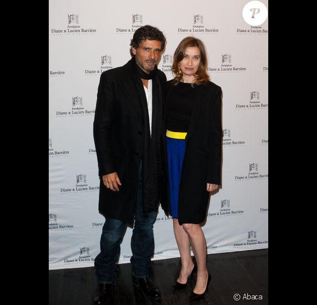 Pascal Elbé et Emmanuelle Devos lors de l'avant-première du film Le Fils de l'autre à Paris le 19 mars 2012