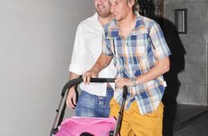 Fabio Coentrao, star de Madrid : Une poussette vide et une petite fille cachée