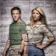 Claire Danes et Damian Lewis dans la série  Homeland .