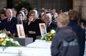 Obsèques des morts du tunnel de Sierre : royaux belges et néerlandais en deuil