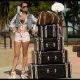 Tulisa Contostavlos (X Factor, N-Dubz) dans son clip  We are young , tourné en février 2012 à Miami et publié en mars 2012 quelques jours après l'irruption d'une sex tape diffusée par son ex Justin 'MC Ultra' Edwards...
