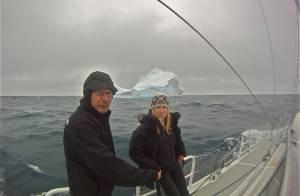 Géraldine Danon, Philippe Poupon et leurs enfants de retour de l'enfer glacé