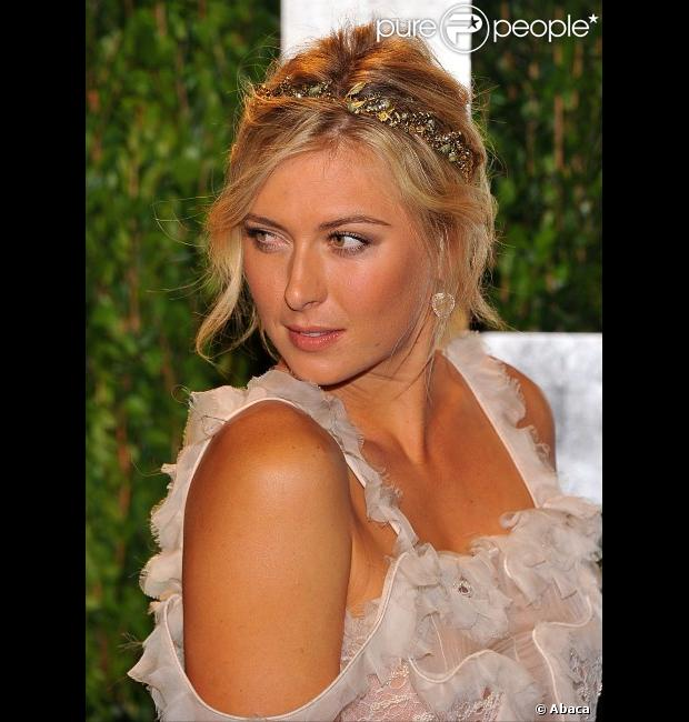 Maria Sharapova le 26 février 2012 à West Hollywood