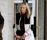 Maria Sharapova le 14 février 2012 à New York