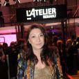 Barbara Bui lors de la soirée de lancement de la Twizy à l'Atelier Renault sur les Champs-Elysées à Paris le mardi 28 mars 2012