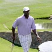 Michael Jordan tout en élégance pour une partie de golf événement