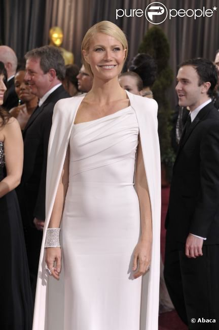 Gwyneth Paltrow lors Oscars le 26 février 2012