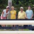 Melinda, Rory et Bill Gates le 25 mars 2012 à West Palm Beach en Floride