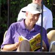 Bill Gates très intéressé par les résultats de sa fille Jennifer le 25 mars 2012 à West Palm Beach en Floride