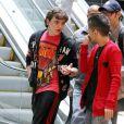 Prince Michael Jr., fils aîné de MJ, le 30 mars 2012 allant au cinéma