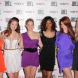 Tiffany Brouwer, Christine Donlon, Catherine Annette, Shani Pride, Catherine Annette et Nikki Griffin lors de la soirée d'ouverture du MIP TV à Cannes au Martinez à Cannes le 1er avril 2012