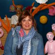 Michèle Bernier le 3 avril 2012 à la Galerie des Galeries lors de l'inauguration de l'exposition  Comme un ananas  à Paris