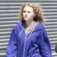AnnaSophia Robb sur le tournage de la série The Carrie Diaries. New York, le 5 avril 2012.