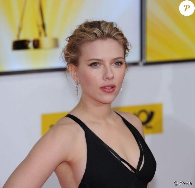 Scarlett Johansson à Berlin le 4 février 2012