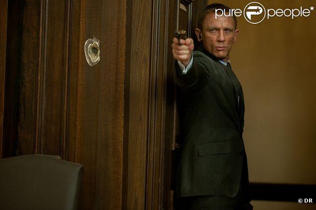 Daniel Craig dans  Skyfall  de Sam Mendes.