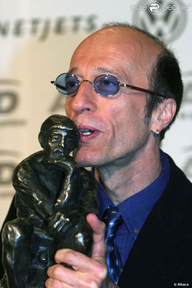 Robin Gibb, malade, en janvier 2012