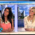 Ayem et Caroline sur le plateau des Anges de la télé-réalité - Le Mag le lundi 16 avril 2012 sur NRJ 12