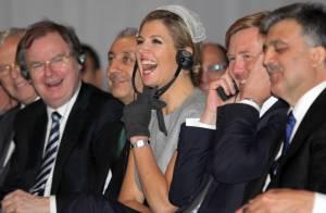 La princesse Maxima met tout son charme au service de la venue du président turc