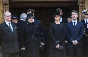La famille royale de Danemark endeuillée aux obsèques du magnat Mc-Kinney Møller