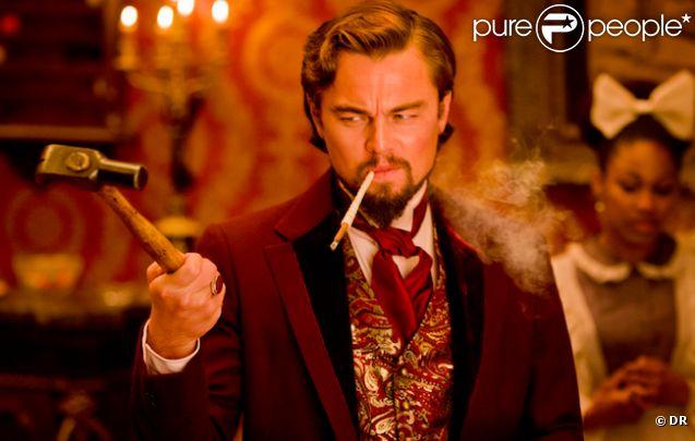 Leonardo DiCaprio dans  Django Unchained  de Quentin Tarantino.