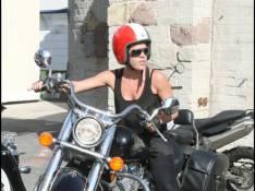 PHOTOS : quand la chanteuse Pink enfourche sa... monture !