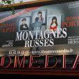 Les Montagnes Russes  d'Eric Assous, mise en scène de Philippe Hersen, au Théâtre Comédia, à Paris, du 27 avril au 9 mai 2012.