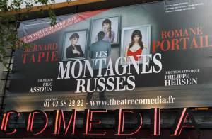 Les Montagnes russes : Bernard Tapie triomphe devant sa fille et ses amis