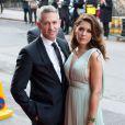 Danielle et Gary Lineker arrivent à la soirée du Thirty Club au Claridges de Londres, le 8 mai 2012.