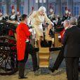 La reine Elizabeth II a fait honneur le 13 mai 2012 au  Diamond Jubilee Pageant , formidable spectacle équestre donné à Windsor en l'honneur de son jubilé de diamant, joué par plus de 550 chevaux et 1100 artistes du monde entier.