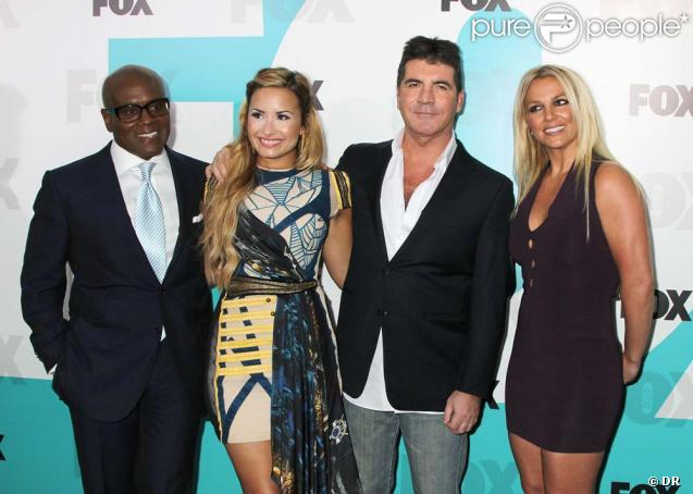 The X Factor  US : conférence de presse organisée par la Fox à Central Park, New York, le 14 mai 2012.