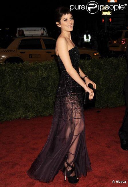 Marion Cotillard à New York le 7 mai 2012