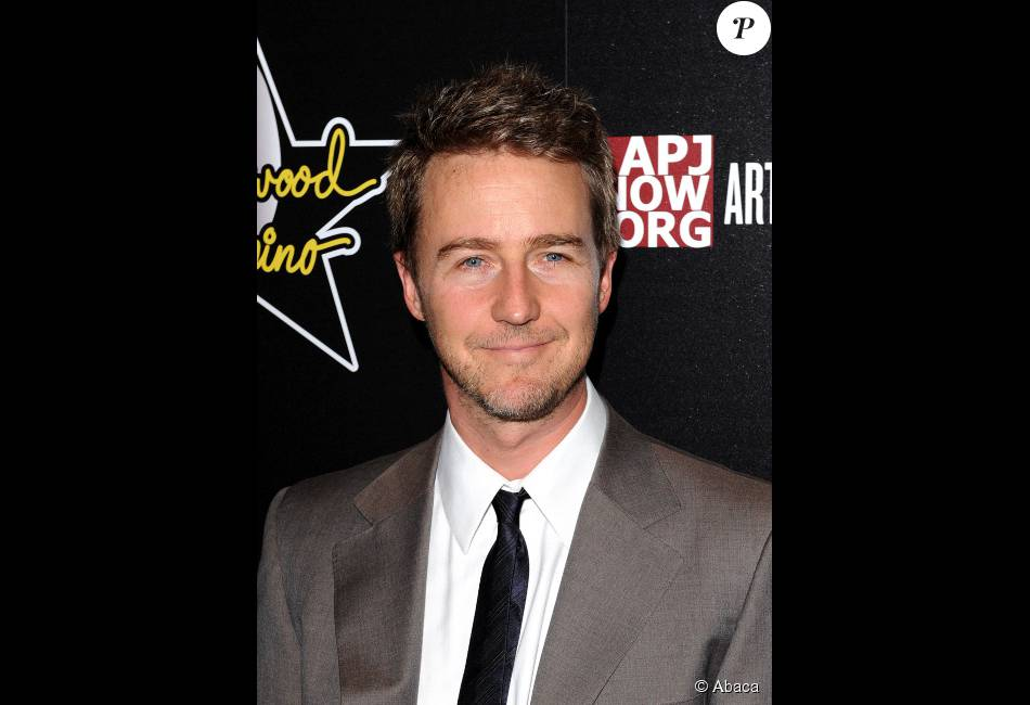 Edward Norton le 23 fe...