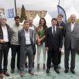 Le 3e Open de Nice Côte d'Azur avait convié des athlètes emblématiques de la ville pour la révélation des tableaux du tournoi, le 19 mai 2012 au LTC de Nice.